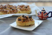 Chelsea buns, dolcetti lievitati della cucina inglese