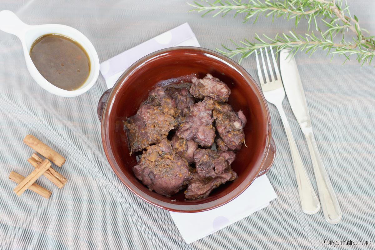 Coniglio al Civet, Ricetta Secondo Piatto Piemontese