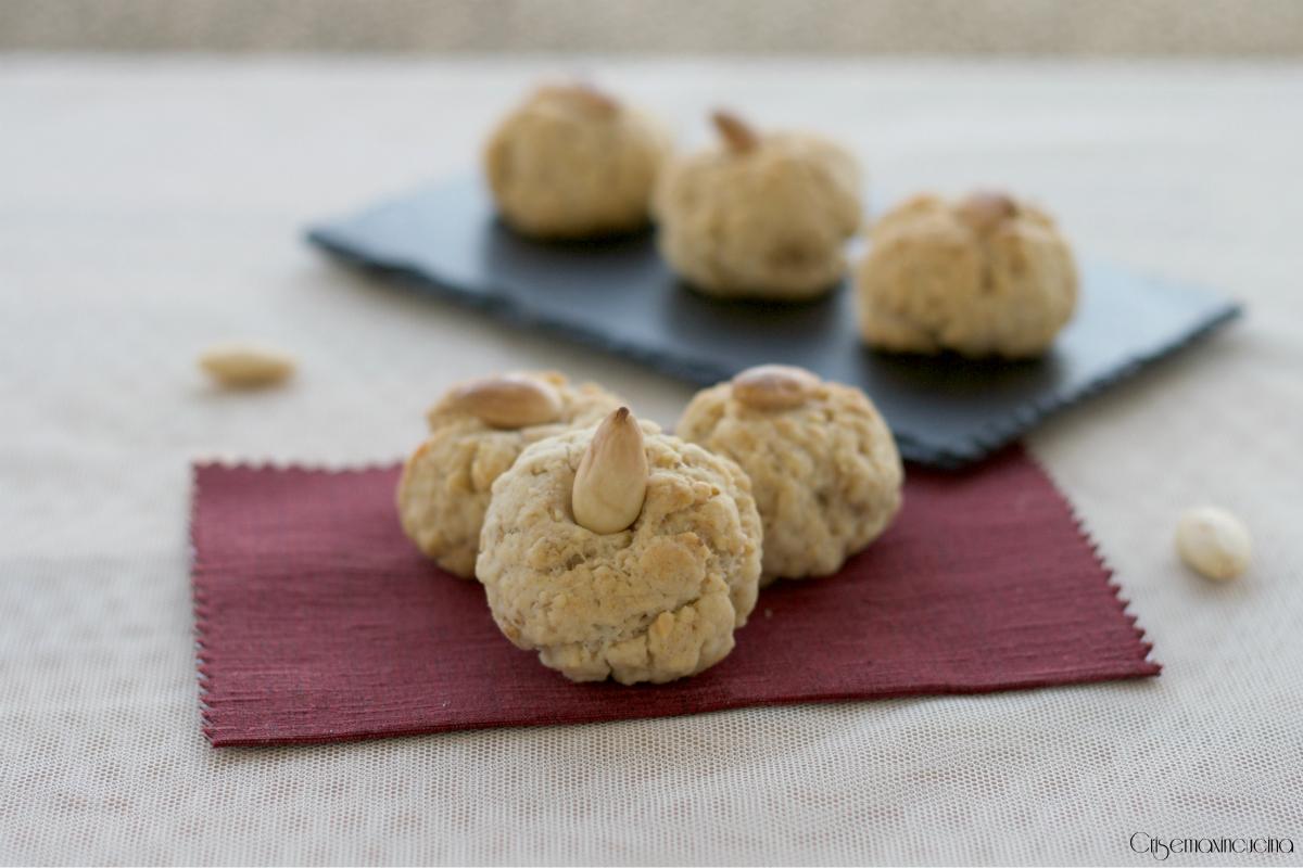 biscotti alla frutta secca senza zucchero