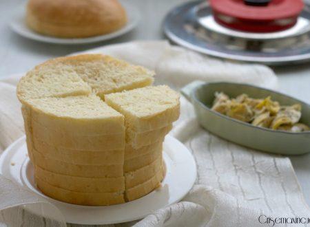 Panettone gastronomico con il Magic Cooker, ricetta lievitata