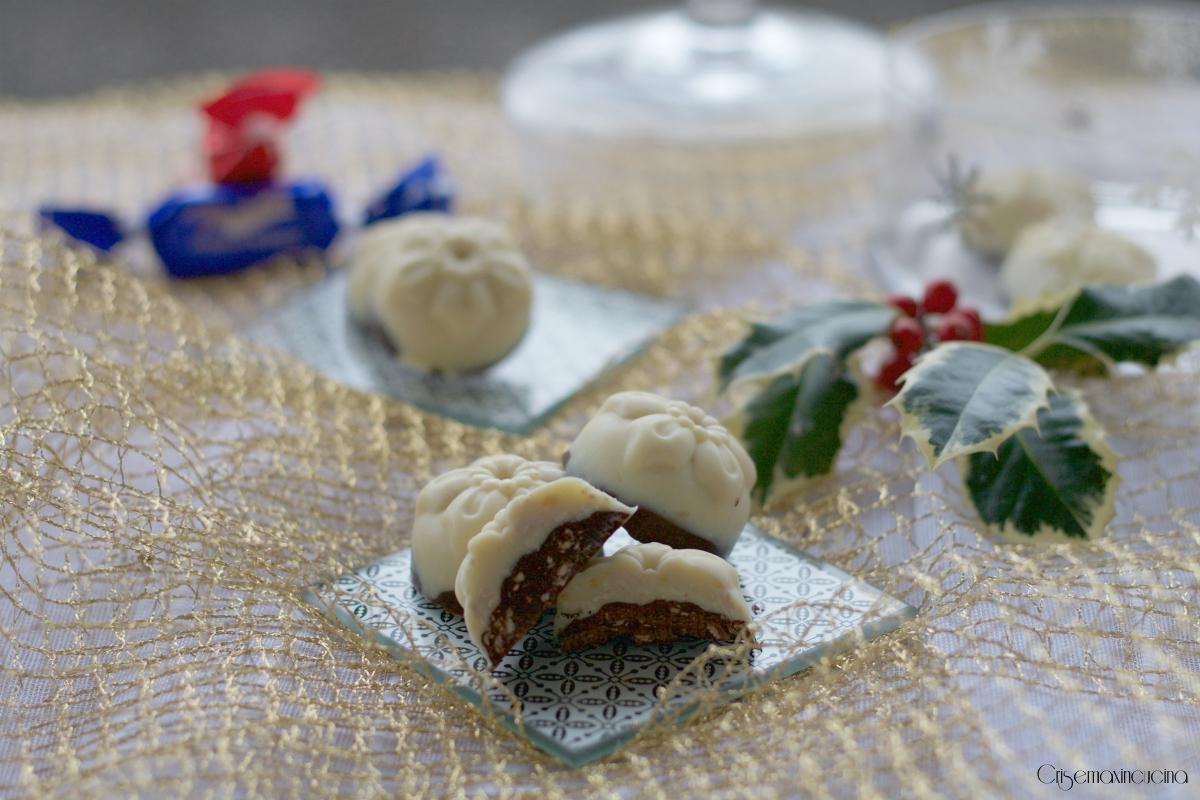 Cioccolatini al Torroncino, Ricetta Facile e Golosa