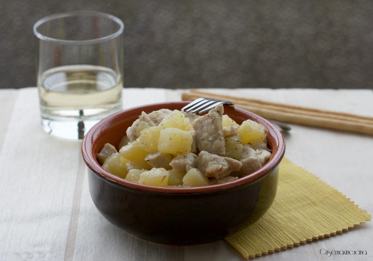 bocconcini di pollo con le patate