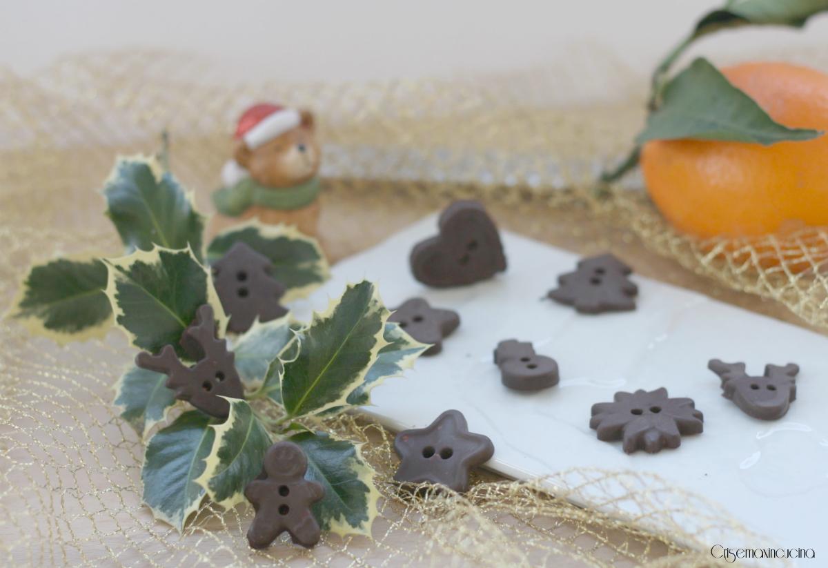 cioccolatini natalizi all'arancia