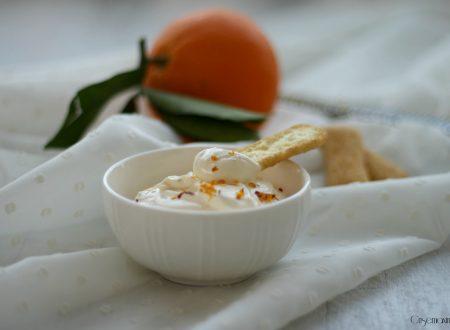 Crema di formaggio all'arancia, ricetta senza zucchero facile e veloce