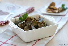 Carciofi con i funghi porcini, contorno  vegan facile e raffinato