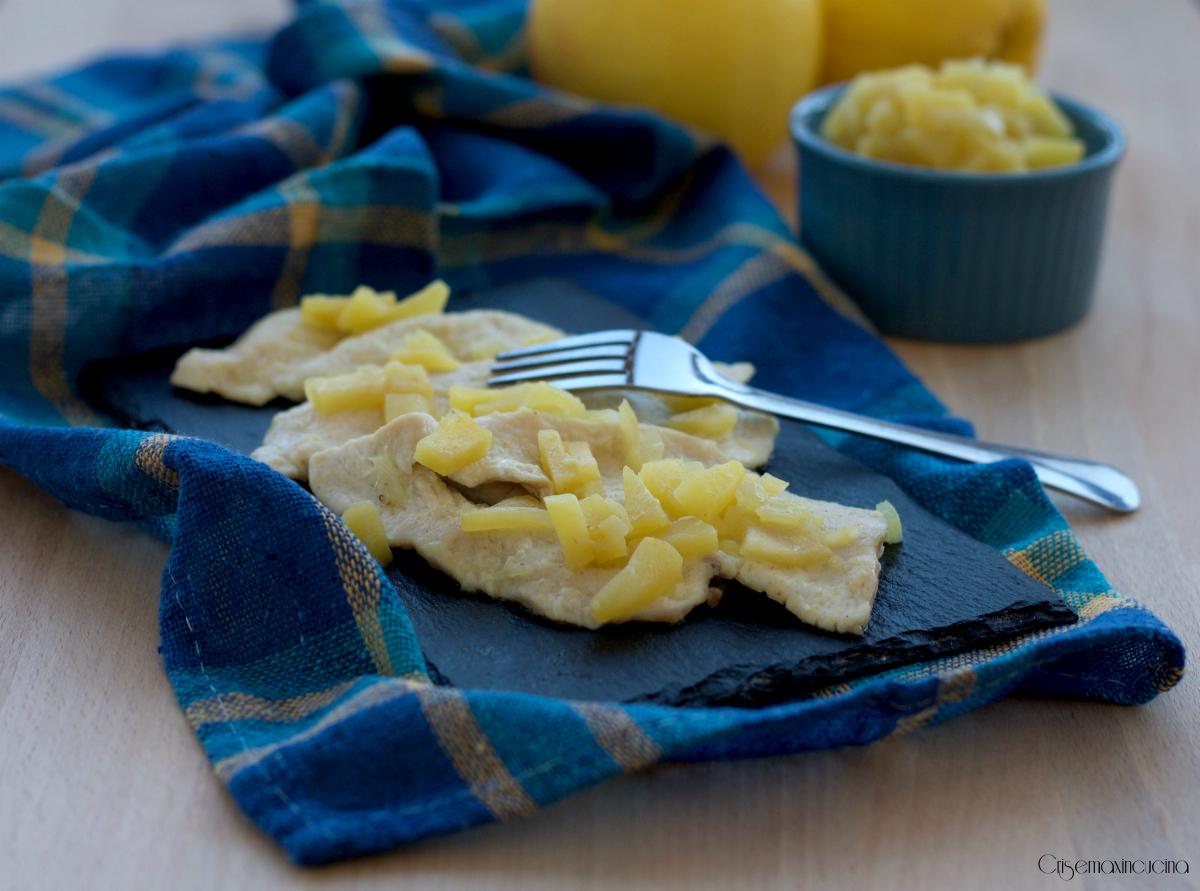 Petto di pollo alle mele e curry, ricetta facile e veloce