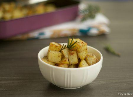 Patate aromatizzate al forno, come quelle della rosticceria