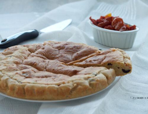 Torta 7 vasetti salata con verdure e formaggio, ricetta sfiziosa
