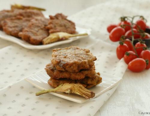 Frittatine con i carciofi, ricetta saporita facile e veloce