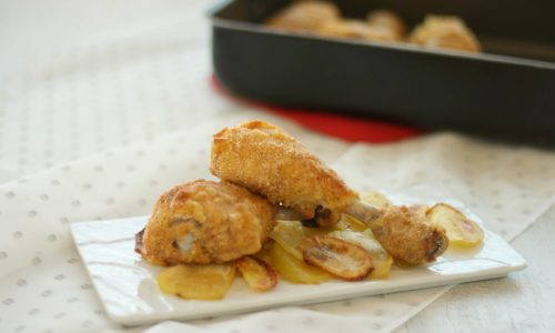 Cosce di pollo impanate al forno, ricetta leggera e sfiziosa