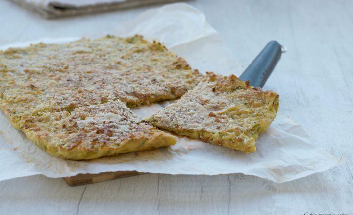 Schiacciata di zucchine e patate, ricetta facile e sfiziosa