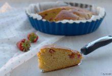 Torta light alle fragole, ricetta facile senza burro