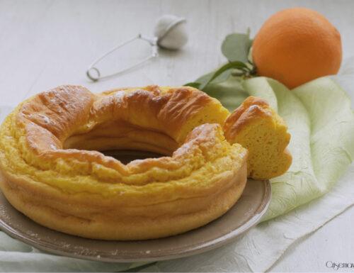 Ciambellone all'arancia senza zucchero, ricetta leggera