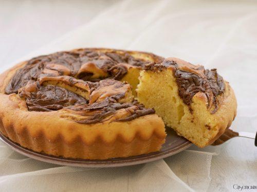 Torta soffice ricotta e nutella, ricetta facile e golosa