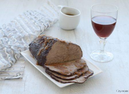 Brasato al Barolo, secondo piatto tipico piemontese