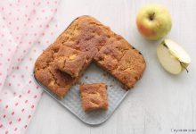 Torta di mele frullate senza zucchero
