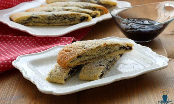 Biscotti arrotolati alla marmellata, ricetta  golosissima
