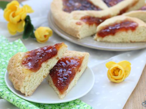 Crostata morbida alla confettura, ricetta di Benedetta Parodi
