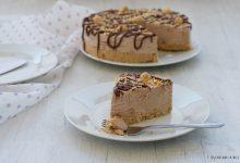 Cheesecake alla nutella e nocciole, senza cottura