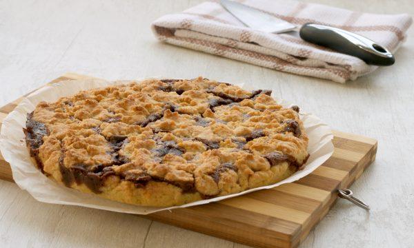 Sbriciolata mascarpone e nutella ricetta facile e golosa