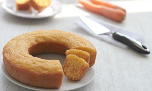 Ciambella light alle carote, col fornetto versilia