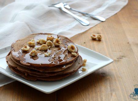 Pancakes vegani al cioccolato, ricetta facile e veloce