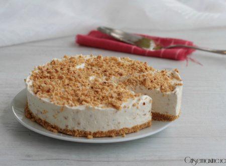 Cheesecake nocciolata, ricetta senza forno