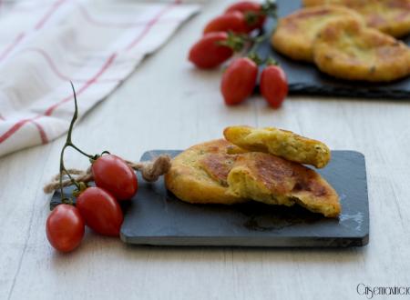 Medaglioni di patate e zucchine
