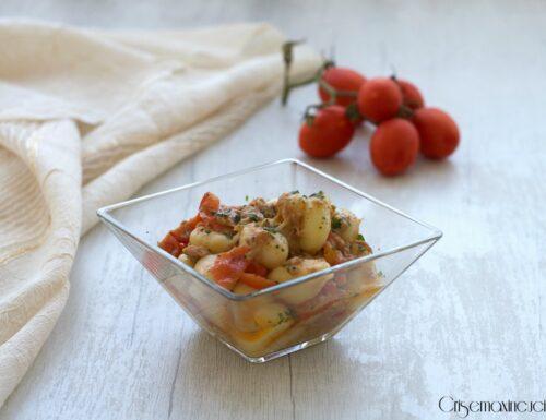 Gnocchi con tonno e pomodorini, ricetta veloce