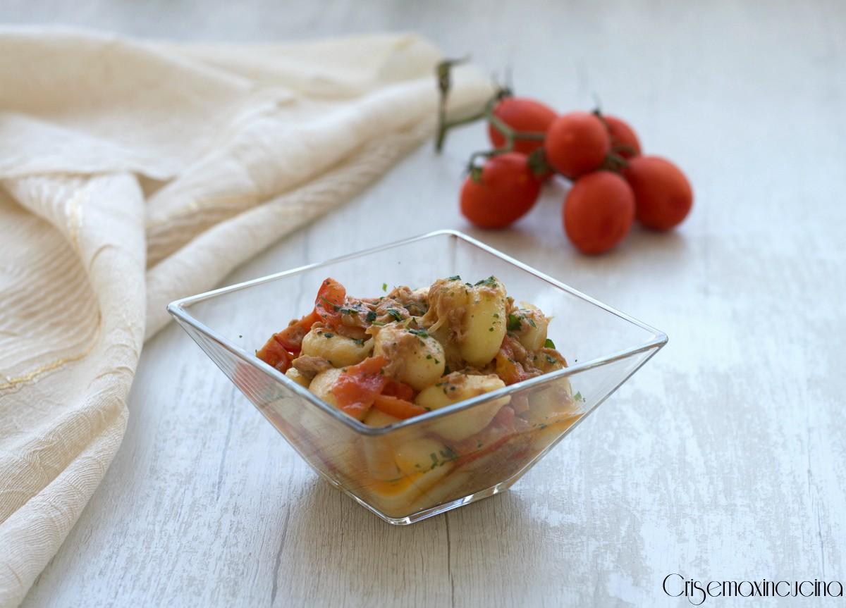 Gnocchi con tonno e pomodorini, ricetta veloce -