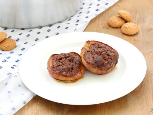 Pesche ripiene cotte nel Versilia, ricetta facile e golosa