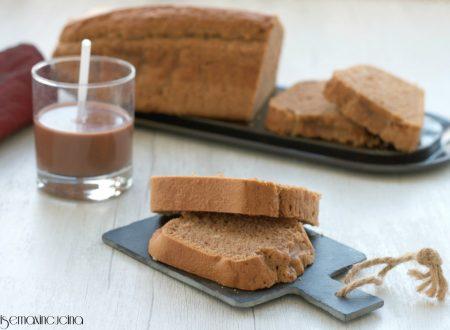 Plumcake al latte di soia al cioccolato