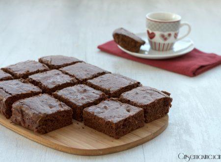 Brownies con caffè e nutella, ricetta golosa