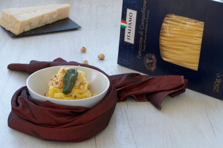 Fettuccine Burro e Salvia e Nocciole, Ricetta Raffinata