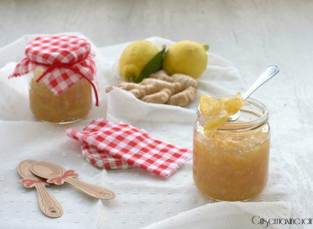 Marmellata di limoni e zenzero, ricetta homemade.