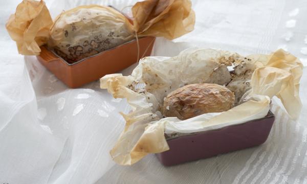 Patate in crosta di sale, ricetta raffinata