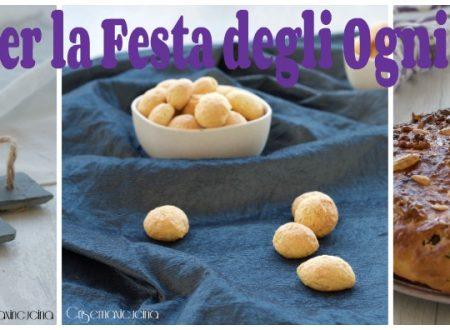 Raccolta di ricette dolci per la Festa di Ognissanti