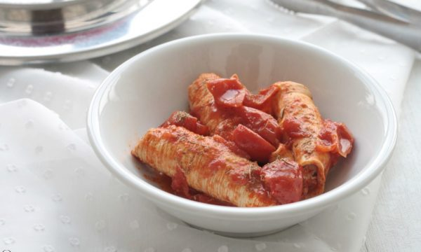 Involtini di pollo alla pizzaiola,  con il Magic Cooker