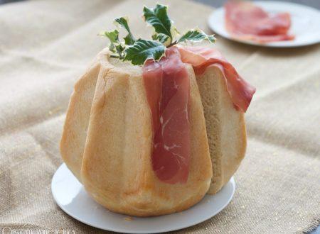Pandoro gastronomico, ricetta base