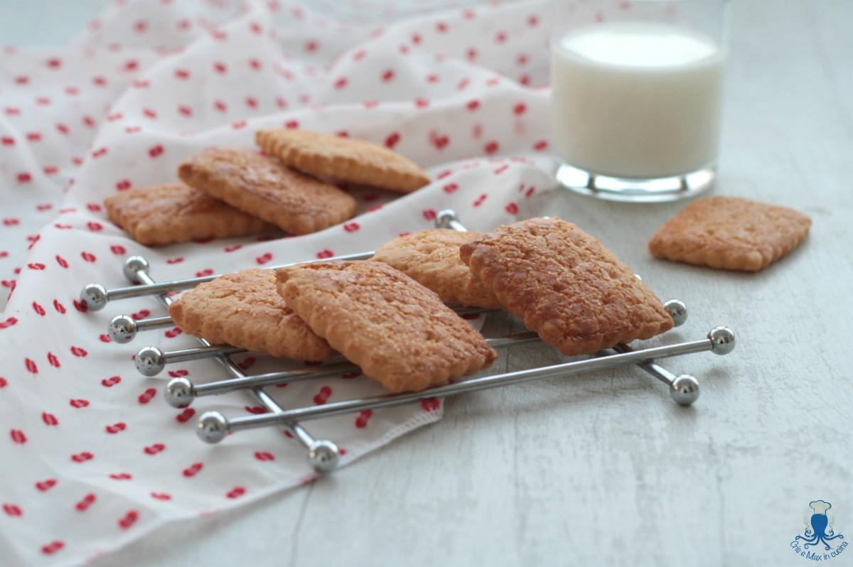 Biscotti di Frolla Rustici, Ricetta Della Prima Colazione