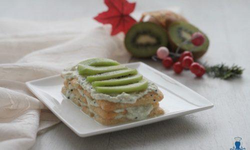 Tiramisu' light con i kiwi, ricetta senza mascarpone
