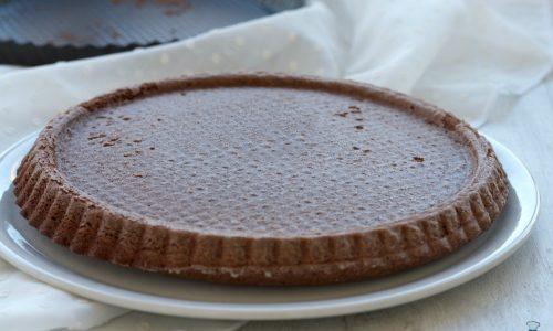 Crostata morbida al cioccolato, ricetta base facile