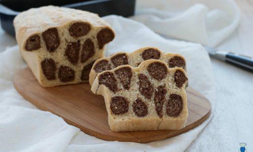 Pane leopardato, ricetta lievitata golosa e creativa