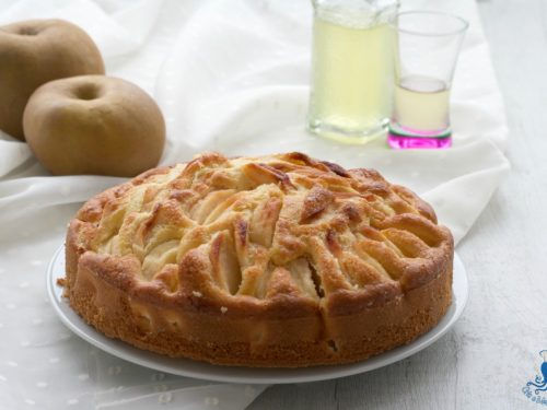 Torta di mele light con il limoncello, ricetta facile e veloce