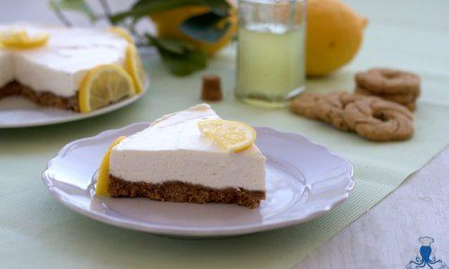 Cheesecake al limoncello, ricetta facile senza gelatina