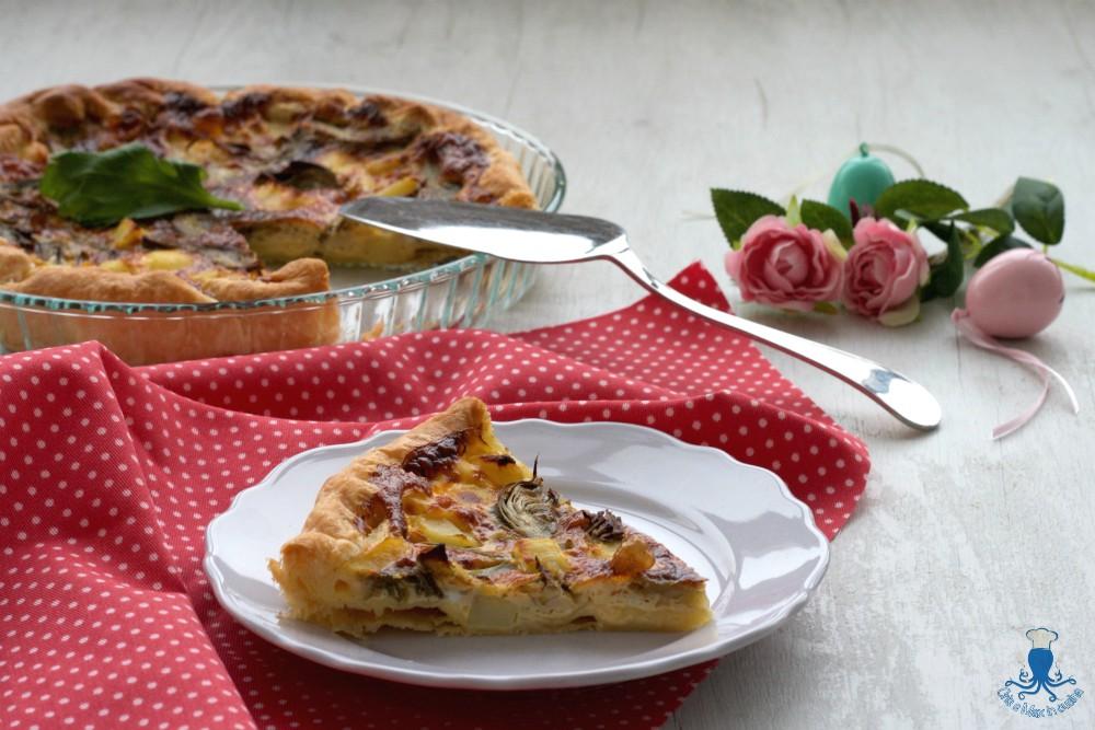 Torta Salata Carciofi e Patate, Ricetta Sfiziosa e Facile