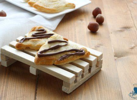 Sfogliatelle veloci con la nutella, ricetta facile e veloce