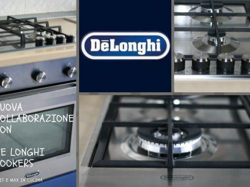 Nuova collaborazione con De Longhi Cookers