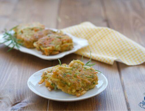 Frittatine di verdura senza uova, ricetta facile e veloce