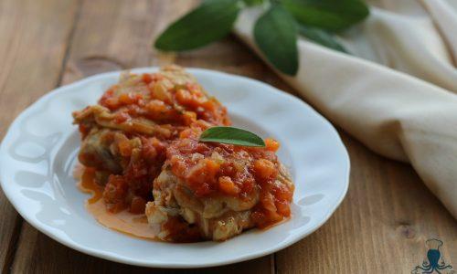 Pollo alla cacciatora, ricetta gustosa e di facile preparazione